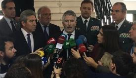 Fernando Grande-Marlaska, este martes en Cádiz