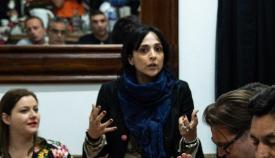 La líder de TG, Marlene Hassan Nahon. Foto Fcbk