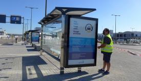 El Puerto de Algeciras estrena marquesinas autosuficientes