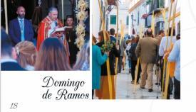 Parte de una de las páginas de la revista de Semana Santa de San Roque