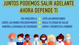 La Policía ha impuesto ya 315 multas por no llevar mascarillas en Algeciras