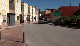 Los agentes de la Policía Nacional investigan lo sucedido en Algeciras