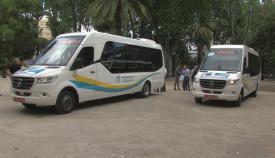 El Ayuntamiento compra cuatro autobuses para el transporte urbano