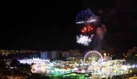 Los fuegos artificiales de fin de feria se retrasan en Algeciras hasta las 00.30 horas