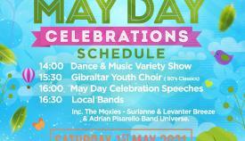 Cartel del May Day. Foto NG