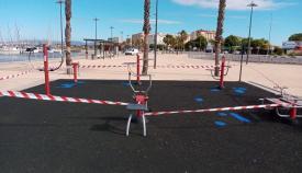 Uno de los parques de La Línea ya rehabilitado. Foto: lalínea.es