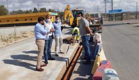 El Ayuntamiento dota a La Menacha de un sistema de recogida de pluviales