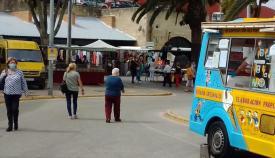 El mercadillo de los domingos, de nuevo en San Roque