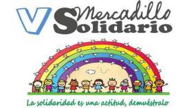Parte de la imagen promocional del V Mercadillo Solidario