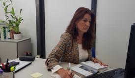 Mercedes Atanet, concejal de Turismo. Foto: lalínea.es