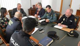 Mesa de Seguridad celebrada en San Roque