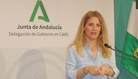 Ana Mestre, delegada de la Junta en la provincia de Cádiz