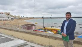 Miguel Rodríguez, delegado de Turismo de la Junta de Andalucía en Cádiz