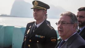Juan Ignacio Zoido afirma que el número de agentes ya se ha incrementado