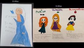 Algunos de los dibujos presentados a concurso
