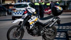 Una motocicleta de la Policía Local de La Línea. Foto: lalínea.es