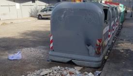 Uno de los contenedores repartidos por la ciudad. Foto: lalínea.es