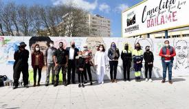 Algeciras dedicará un mural a los colectivos que luchan contra el Covid