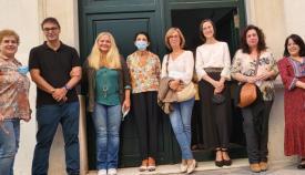 Imagen de los participantes en la visita guiada. Foto: Ayto Algeciras