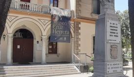 Fachada principal del Museo 'Cruz Herrera' de La Línea. Foto: NG