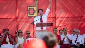 Picardo habla en el Día Nacional de Gibraltar
