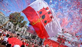Fiesta del National Day en Gibraltar. Foto del archivo de Tony