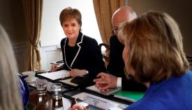 Nicola Sturgeon es la primera ministra de Escocia