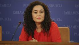 Inmaculada Nieto, portavoz parlamentaria de Adelante Andalucía