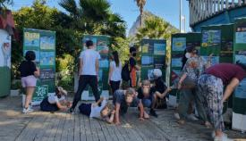 Un momento de la actividad, en imagen difundida por los organizadores