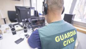 El ahora condenado usaba la red social Facebook. Foto Guardia Civil