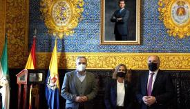 La nueva jefa provincial de Tráfico de Cádiz visita Algeciras