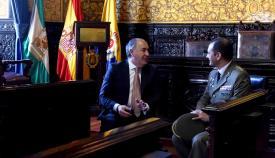 El nuevo gobernador militar del Campo de Gibraltar visita Algeciras