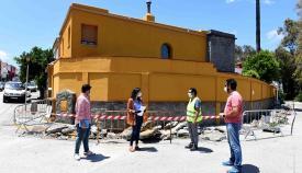 El Ayuntamiento de Algeciras arreglará los acerados en Villa Blanca y Villa Rosa