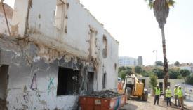 La Casa Varela, en su actual ruinoso estado