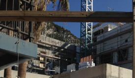 Obras del colegio Notre Dame en Gibraltar