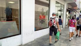 Oficina del Brexit en Gibraltar, en una imagen de archivo. Foto NG