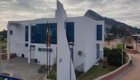 Edificio en el que se asienta la oficina de información sobre el Brexit