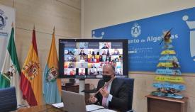 El Pleno Infantil se celebra de forma telemática en Algeciras