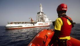 El barco de Open Arms llegará a Algeciras el jueves