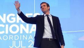 Pablo Casado, líder de PP
