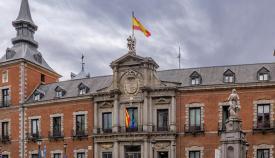 Palacio de Santa Cruz en Madrid