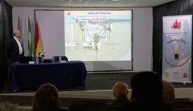 Un momento de la presentación realizada ayer en la Casa de Cultura de Tarifa. Foro LR