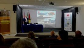 Presentación del proyecto, en Tarifa, en el mes de enero pasado. Foto LR