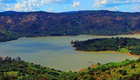Imagen de archivo del pantano de Guadarranque