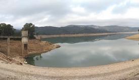 Imagen de un embalse de la zona difundida por Verdemar