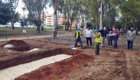 Las obras ya han comenzado. Foto Ayuntamiento Algeciras