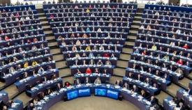 Hemiciclo del Parlamento Europeo. Foto NG