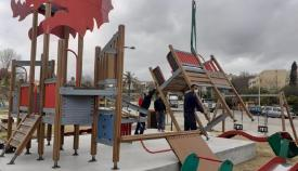 La zona infantil del Parque Feria aumentará su superficie