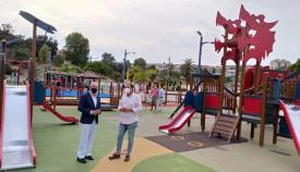 Reabierta la zona de juegos infantiles ubicada en el Parque Feria de Algeciras