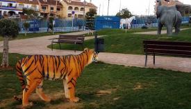 El recientemente inaugurado parque infantil Miguel Ángel Blanco